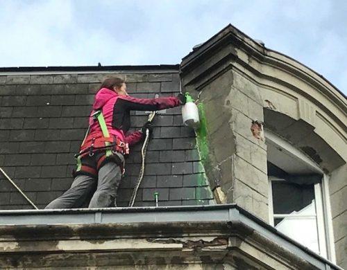Recherche de fuites sur toiture