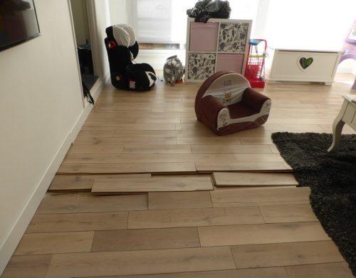 Recherche de fuite sur plancher chauffant